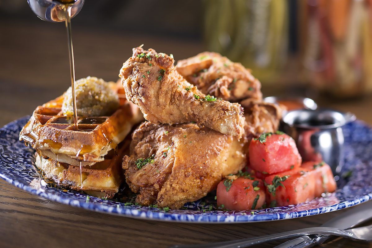 Lewellyn's fine fried chicken by Yardbird Southern Table and Bar