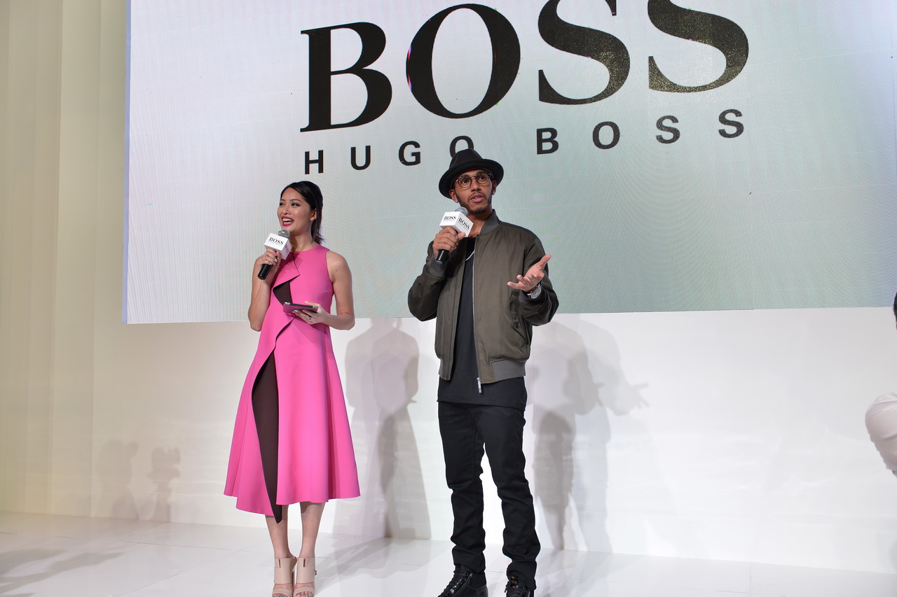 Gallery: An evening with Hugo Boss and Lewis Hamilton at Pavilion Pitstop 2016