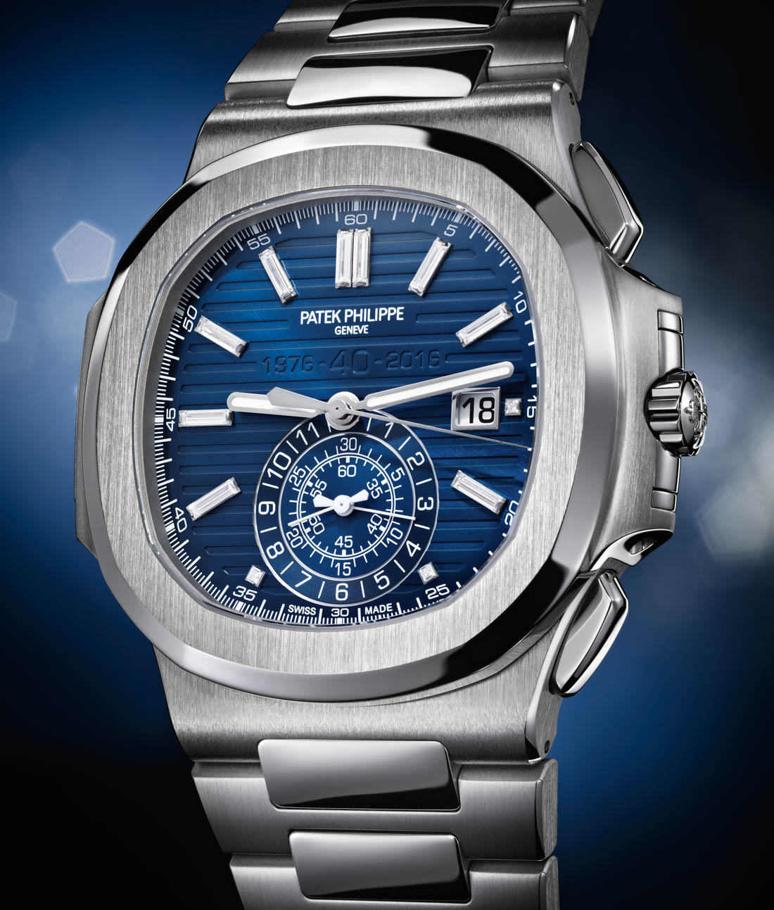 Patek Philippe celebrates 40 years of Nautilus with special edition