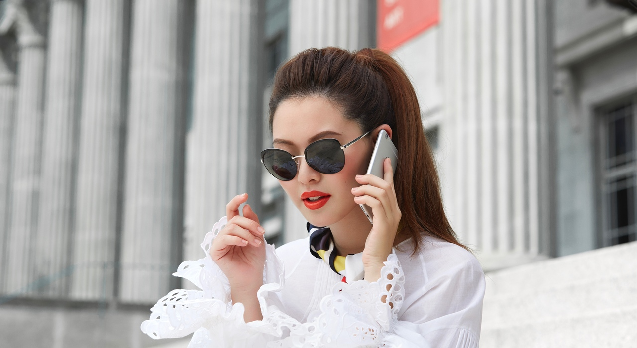 Captured: Shades of You street style featuring Christabel Chua