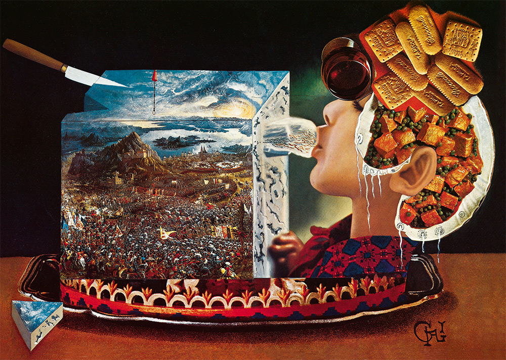 Appetite for art: Salvador Dali's surrealist cookbook republished after 43 years