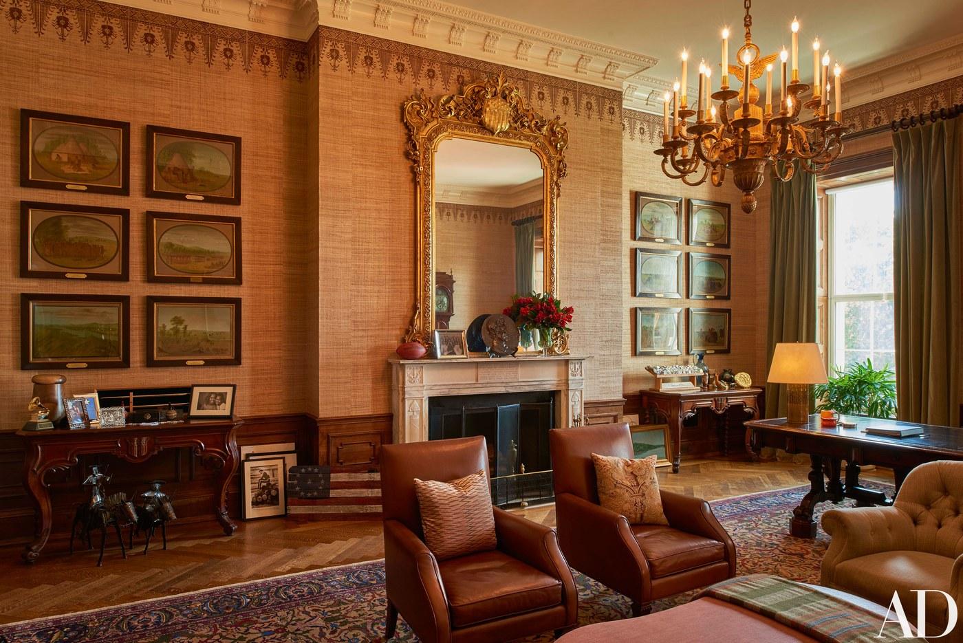 The Obama family's residence inside the White House