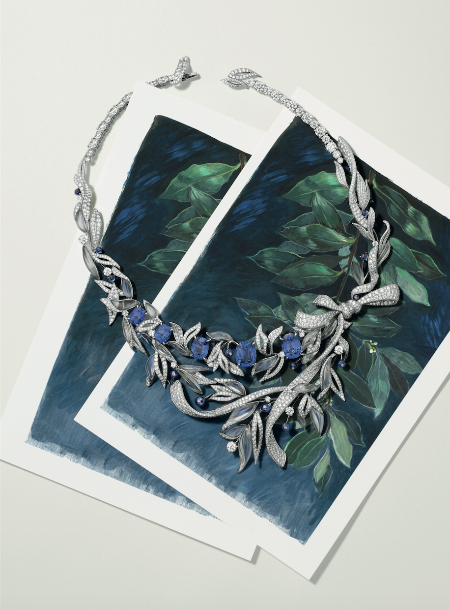 On the rocks: Chaumet Firmament Apollinien necklace
