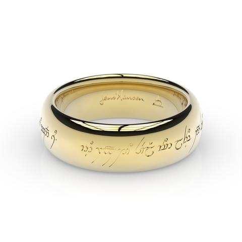 The One Ring in The Lord of the Rings and The Hobbit