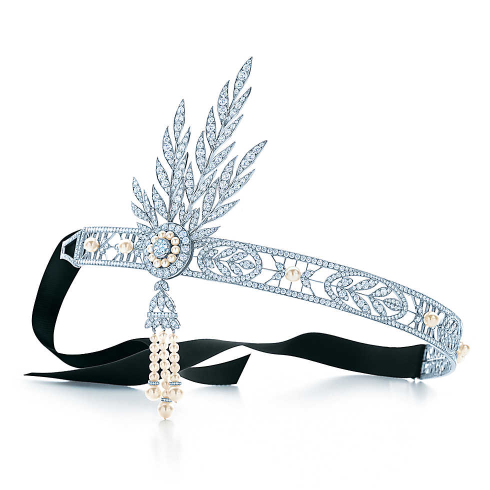 Savoy headpiece in The Great Gatsby