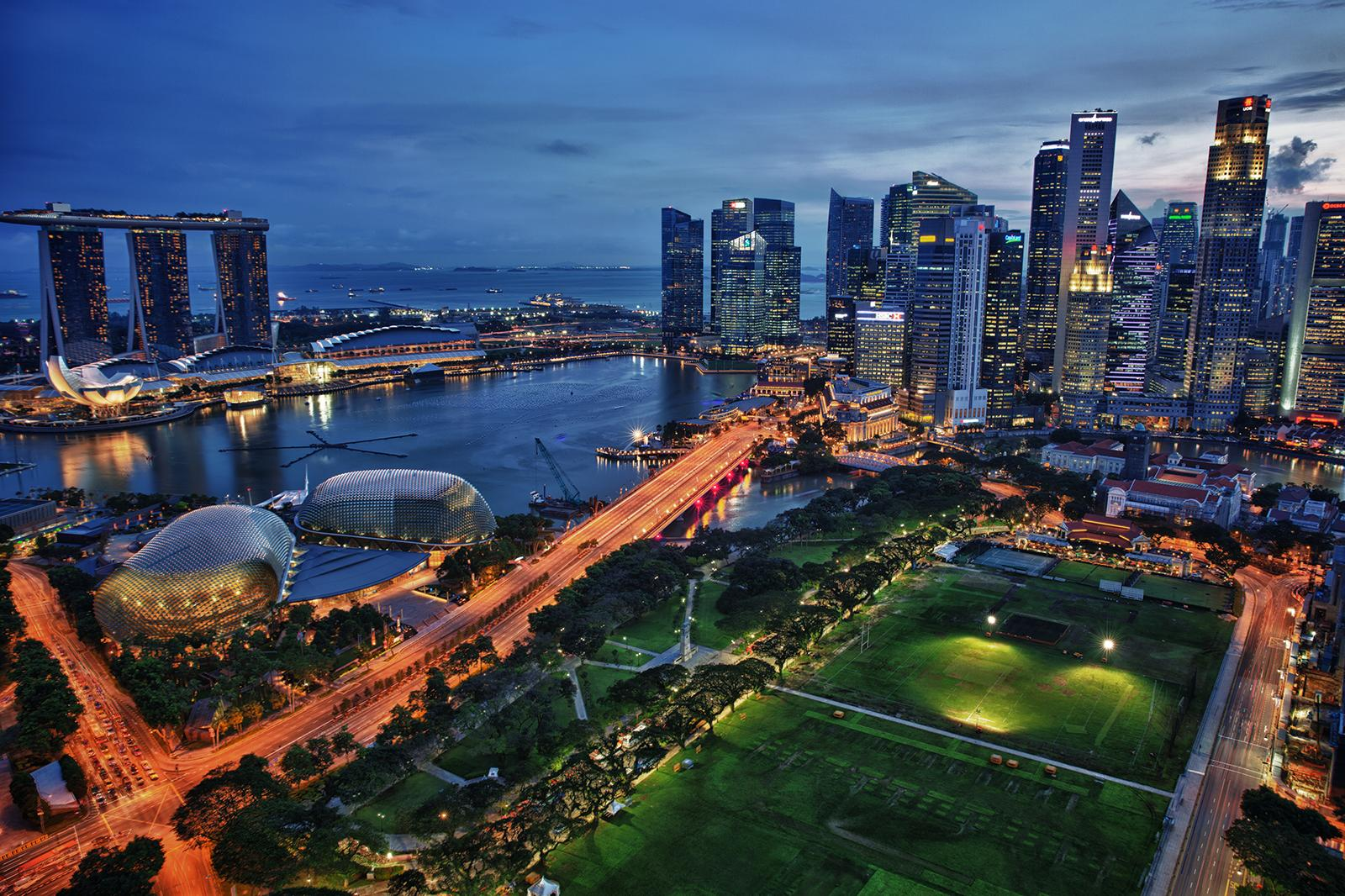 Futuristic city: How the Singapore skyline changed over the past decade