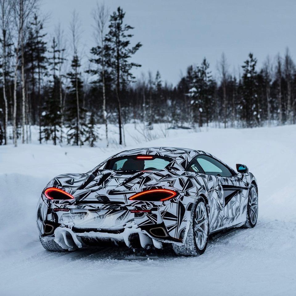Pure McLaren Arctic Experience