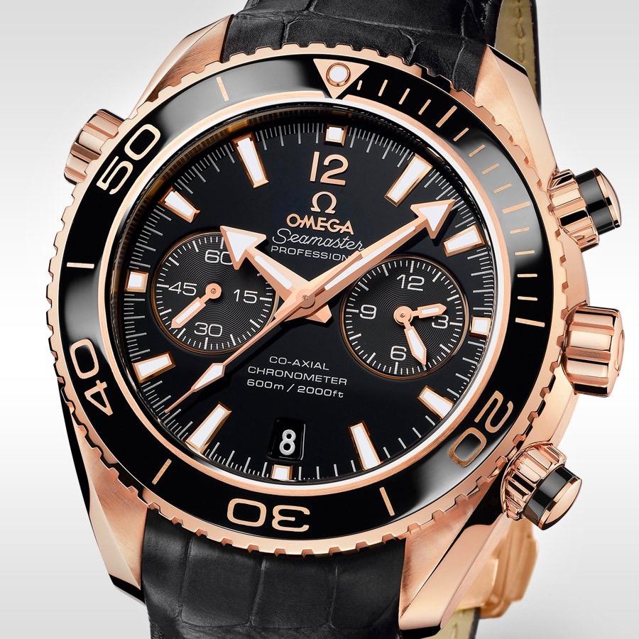 Omega Seamaster Planet Ocean 600m Chronograph Ceragold