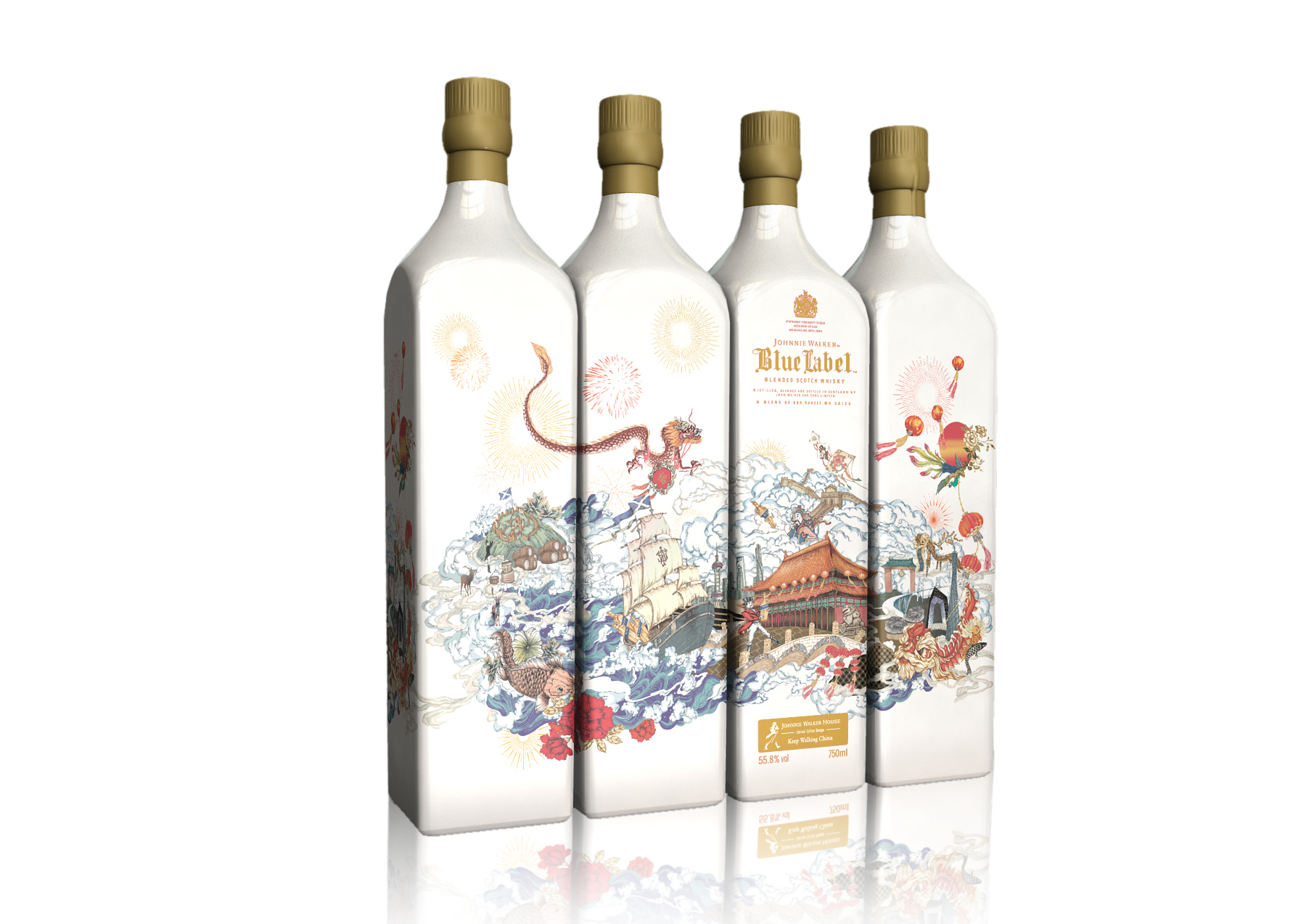 Johnnie Walker launches exclusive CNY collection