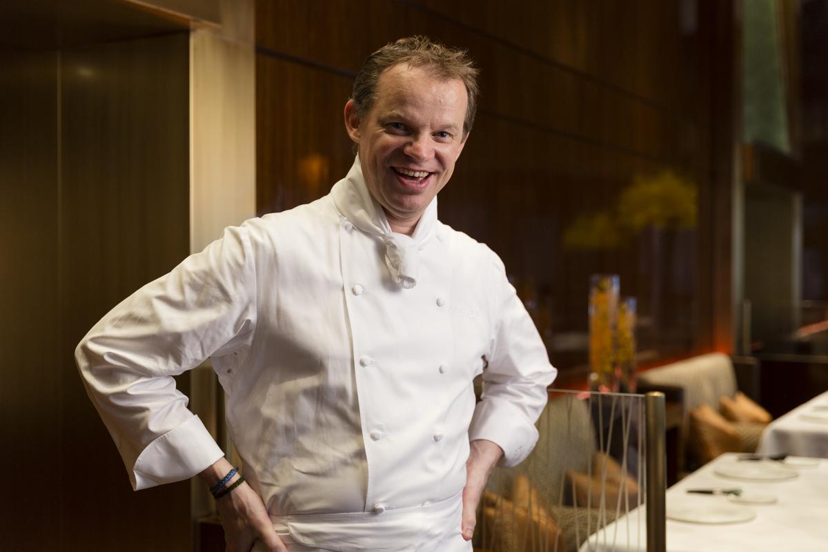 Richard Ekkebus, Culinary Director of Landmark Mandarin Oriental