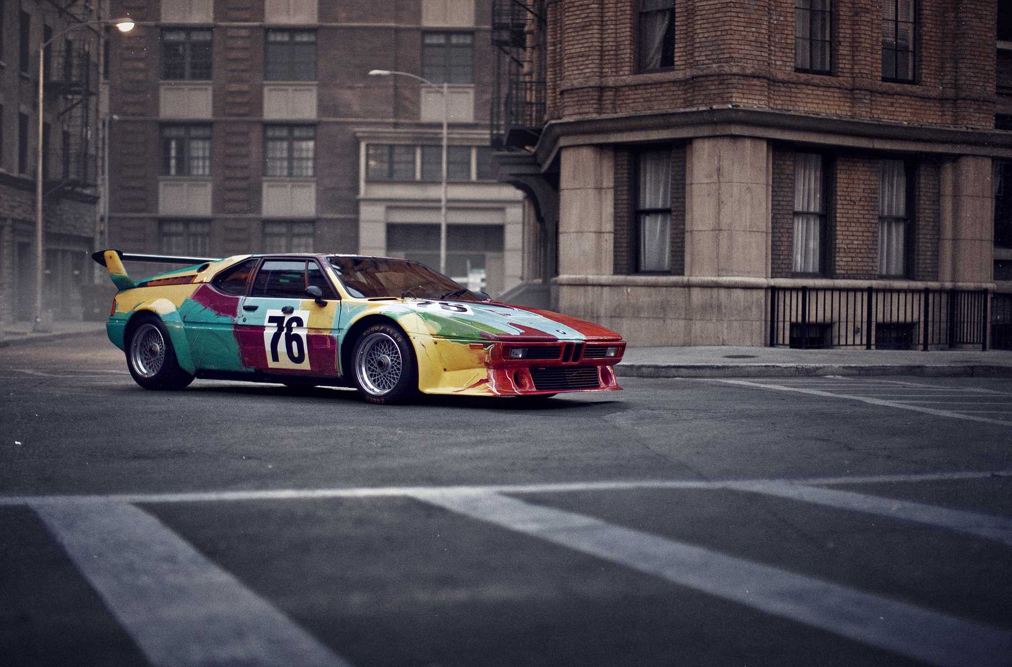 BMW Art Cars: 5 of our favourite works of moving art