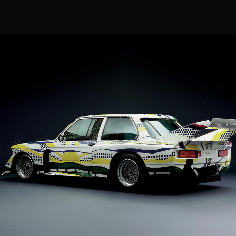 Roy Lichtenstein, BMW 320i, 1977