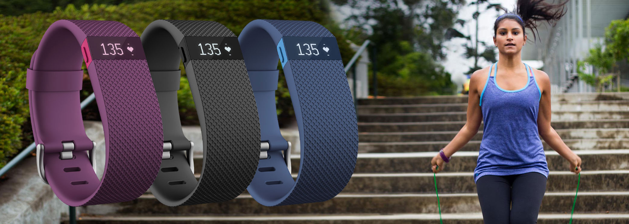 Win: Get healthy with Fitbit Charge HR