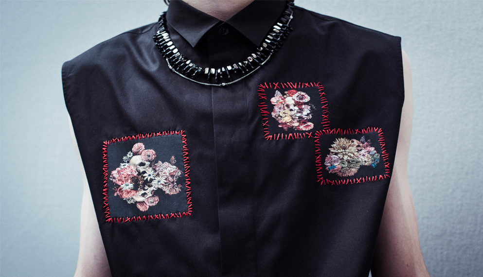 Dior Homme's new capsule collection blends poetry with punk influences