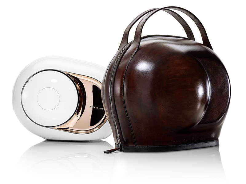 The Phantom I Berluti Cocoon by Devialet and Berluti