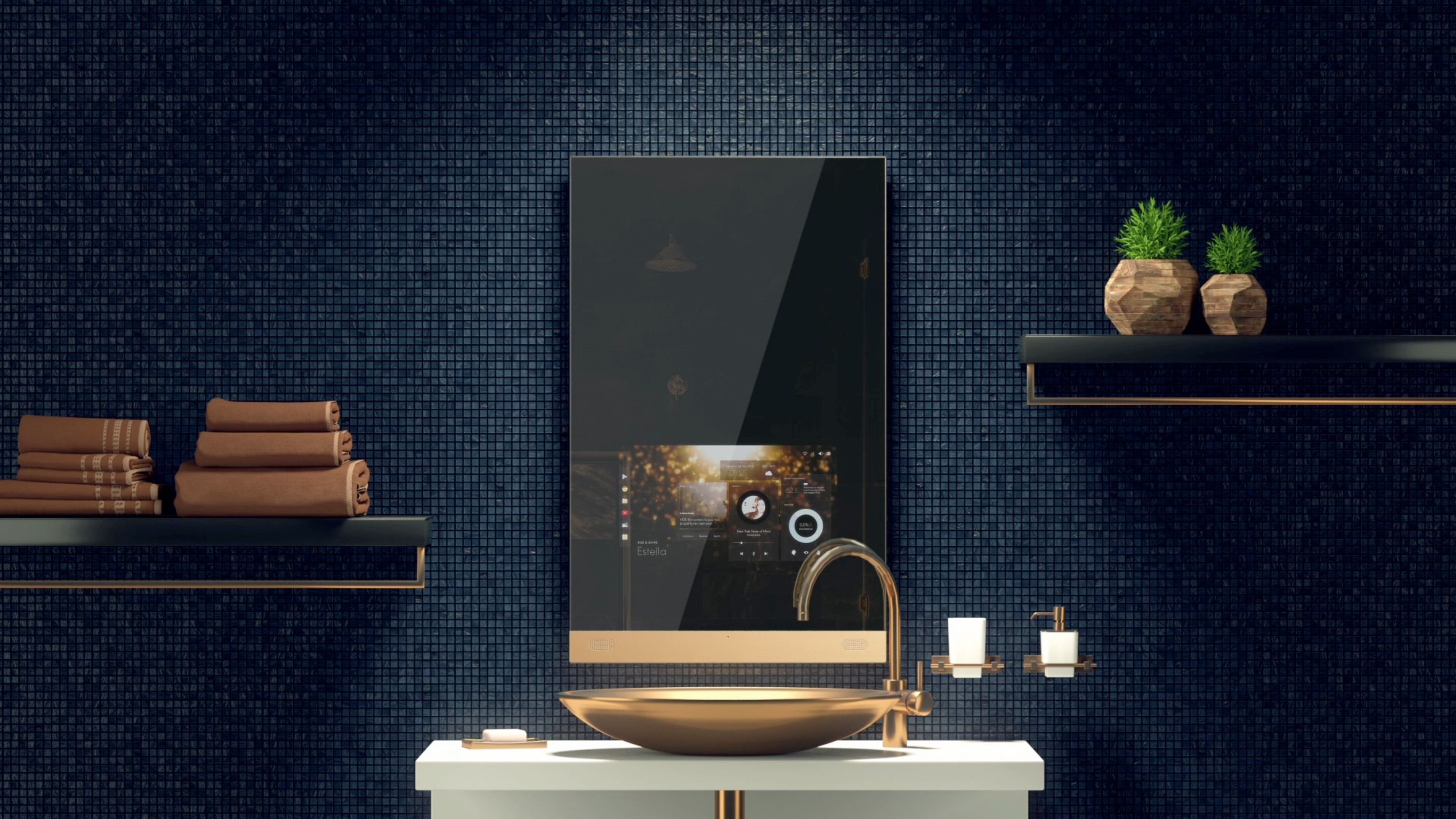 The world's first luxury smart mirror is here to streamline your mornings