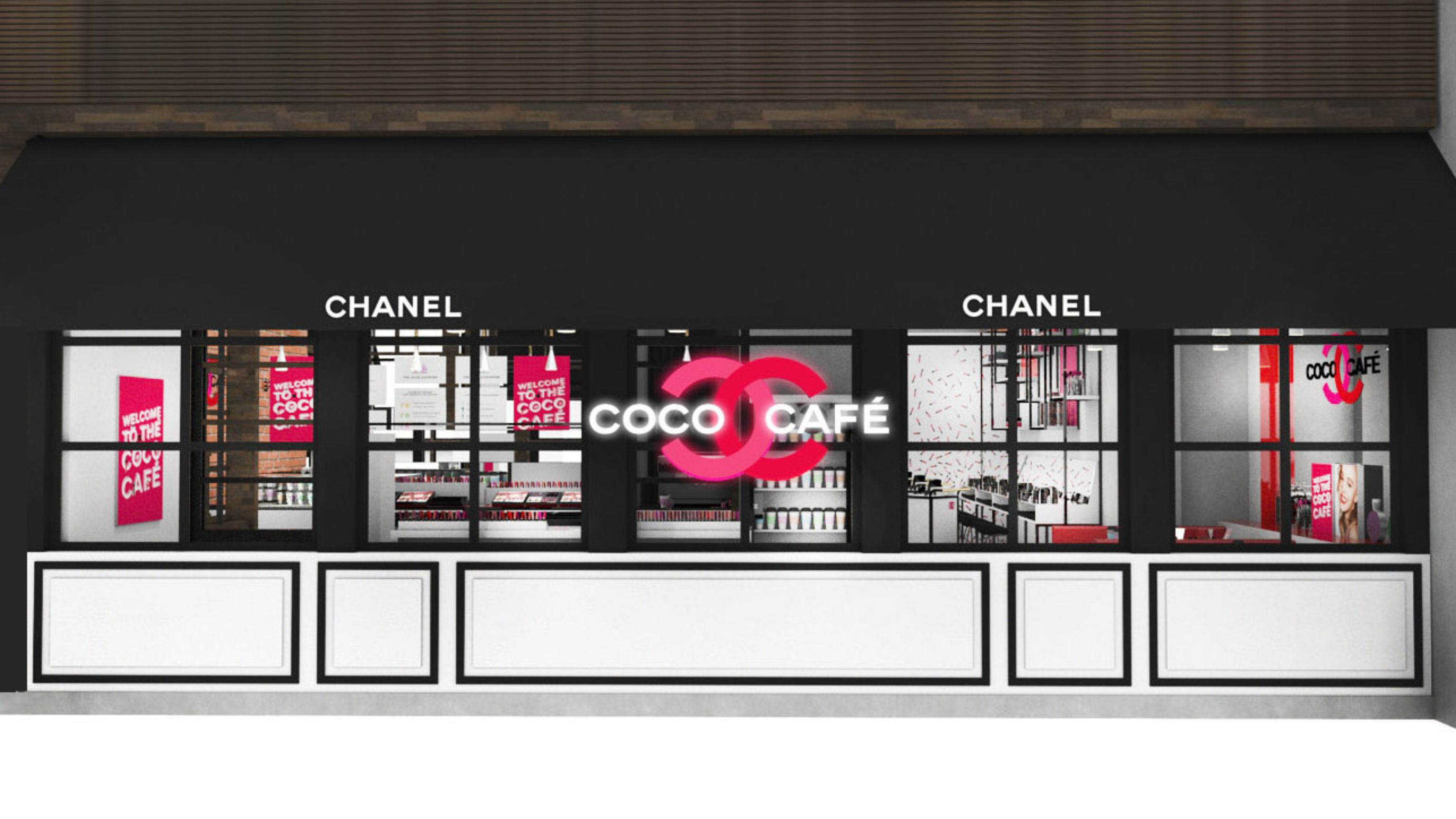 Chanel fans should sign up now for the Coco Café pop-up this June