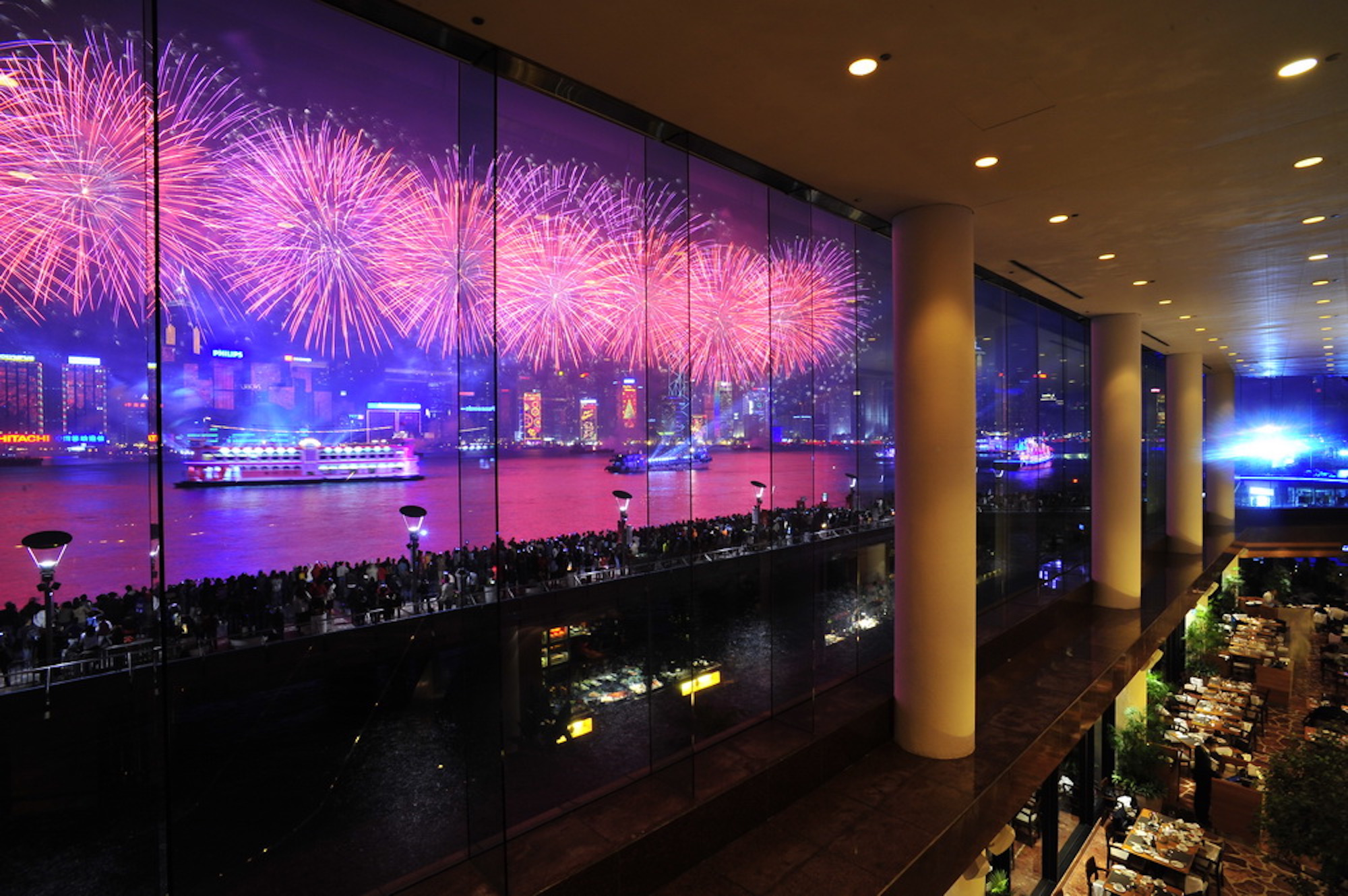 The best fireworks dinners for the HKSAR 20th anniversary celebrations