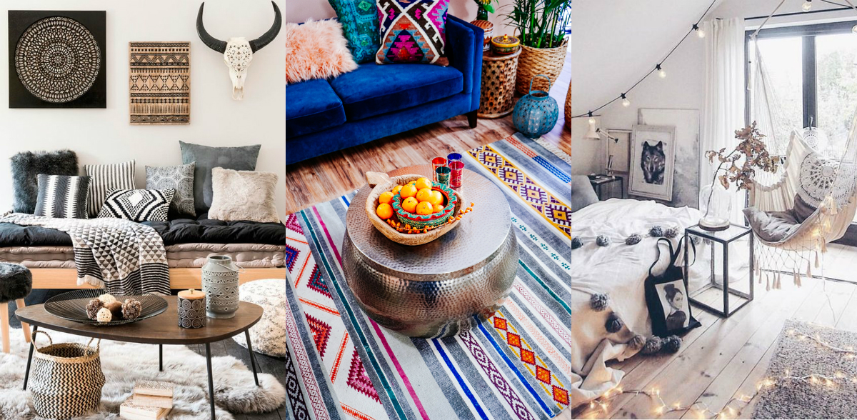 Design trend: 5 tips for Bohemian chic interiors