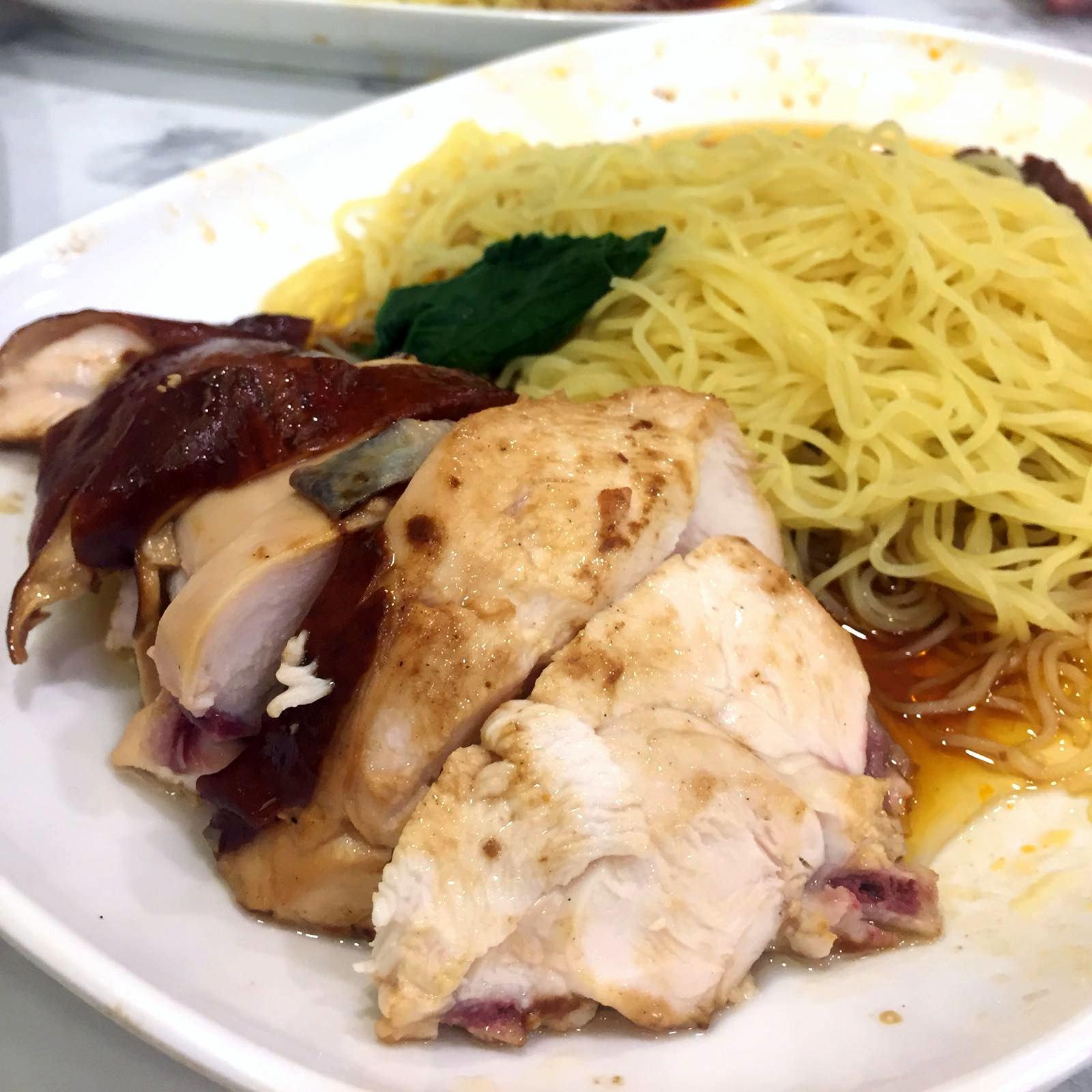 Liao Fan Hong Kong Soya Sauce Chicken Rice & Noodle, one Michelin star
