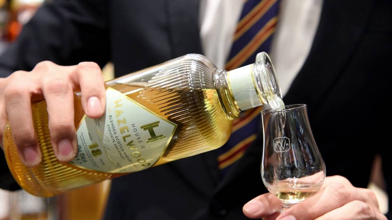 Liquid gold: House of Hazelwood whiskies combine vintage allure with fine Scotch blends