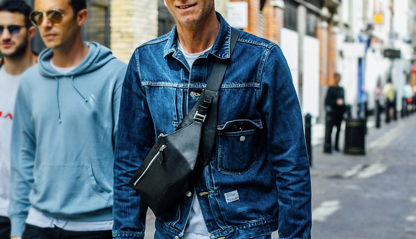 Get on board with this latest bag trend for men