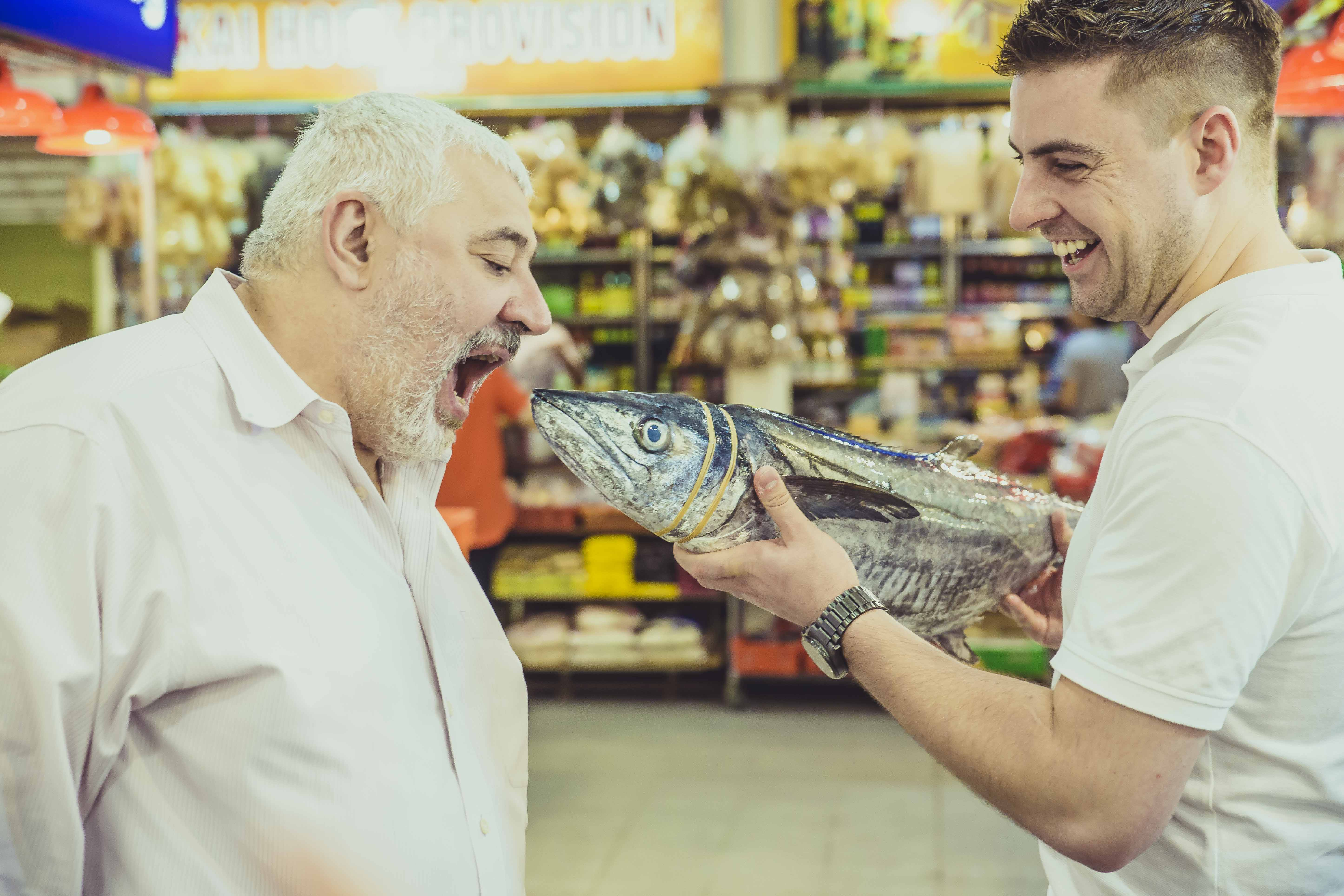 Umberto Bombana and Kirk Westaway show us how to choose ingredients like a chef