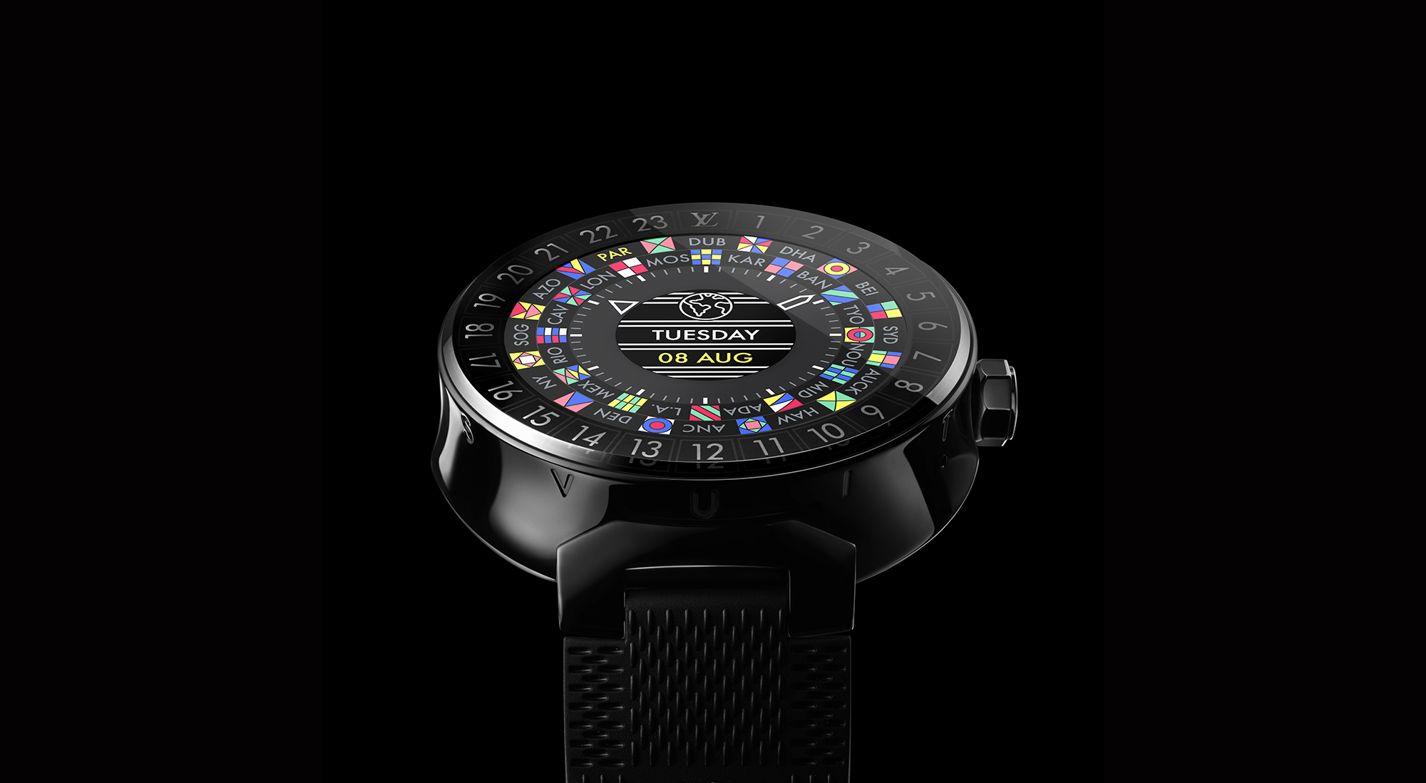 Louis Vuitton Tambour Horizon is the Maison's first ever smartwatch