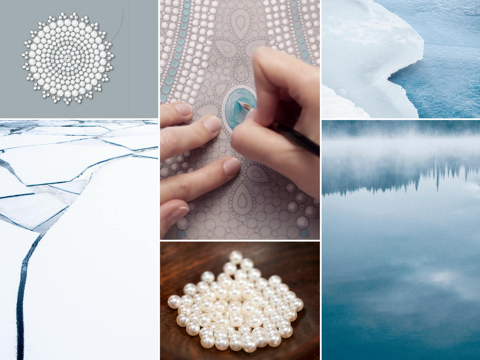 On the rocks: Boucheron's frosty Baïkal necklace is fit for an ice queen