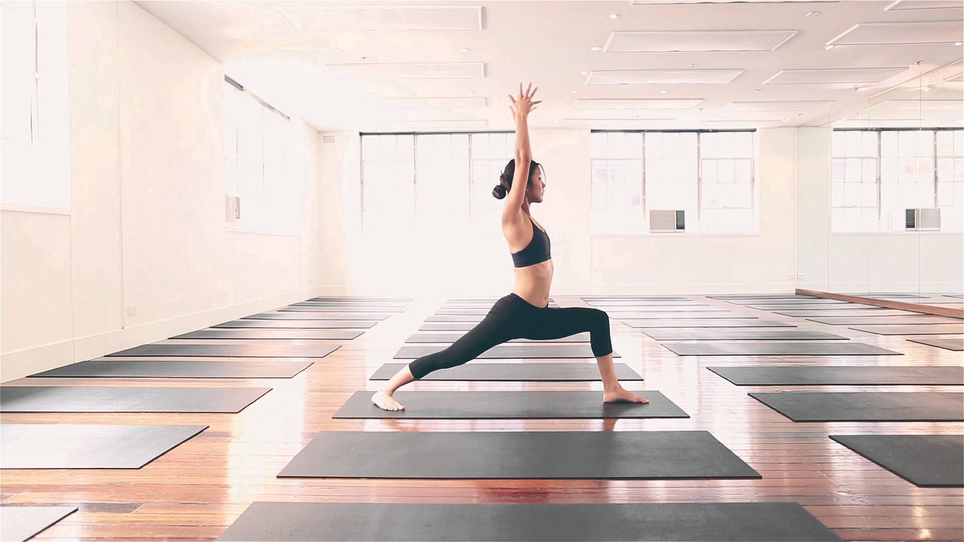 For hot yoga, try Hom Yoga's Hot Hatha class