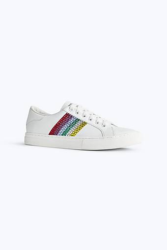 Marc Jacobs Embellished Empire Low Top Sneaker