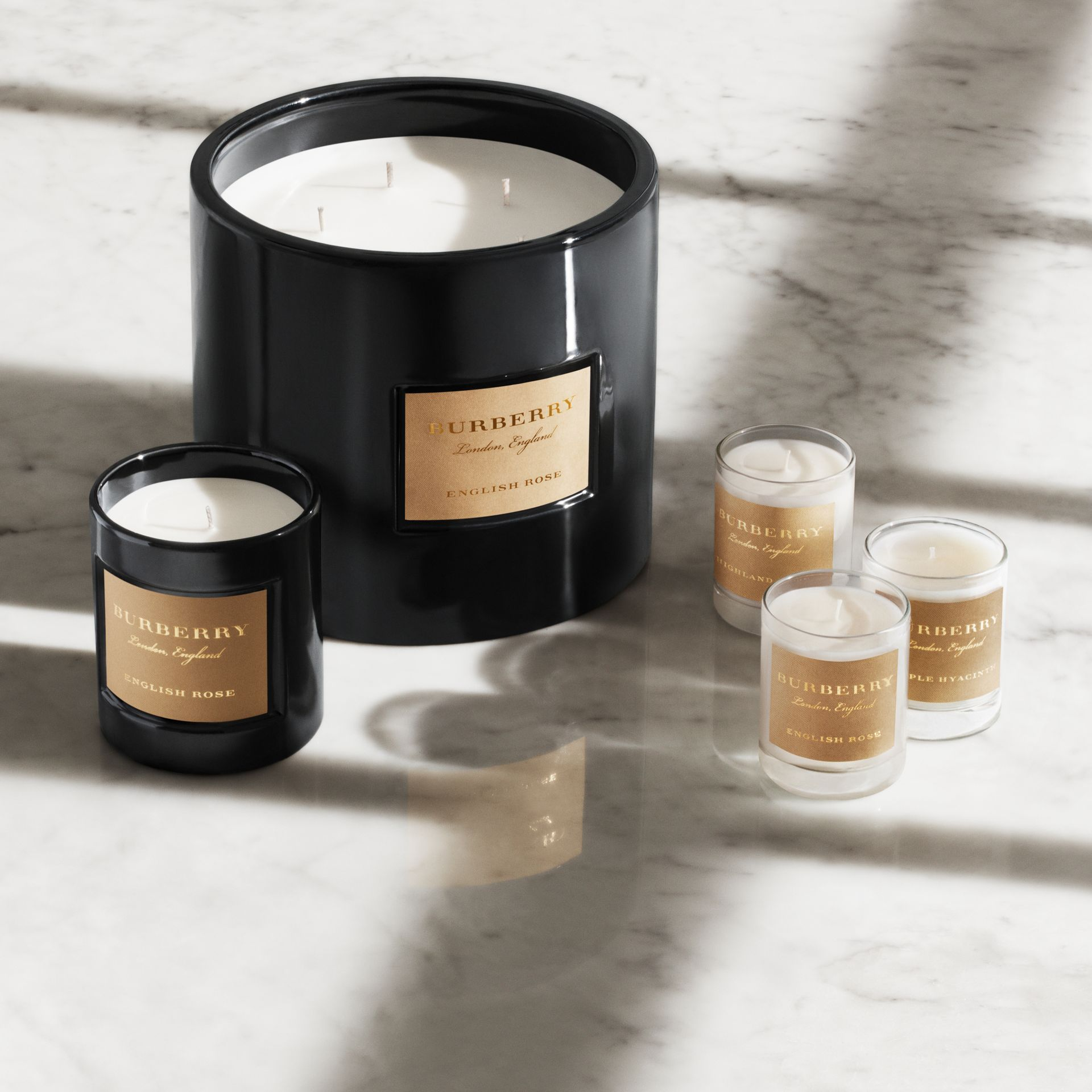 Cedar Wood Scented Candle, Burberry Home