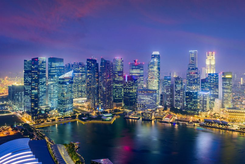 business lunches in Singapore