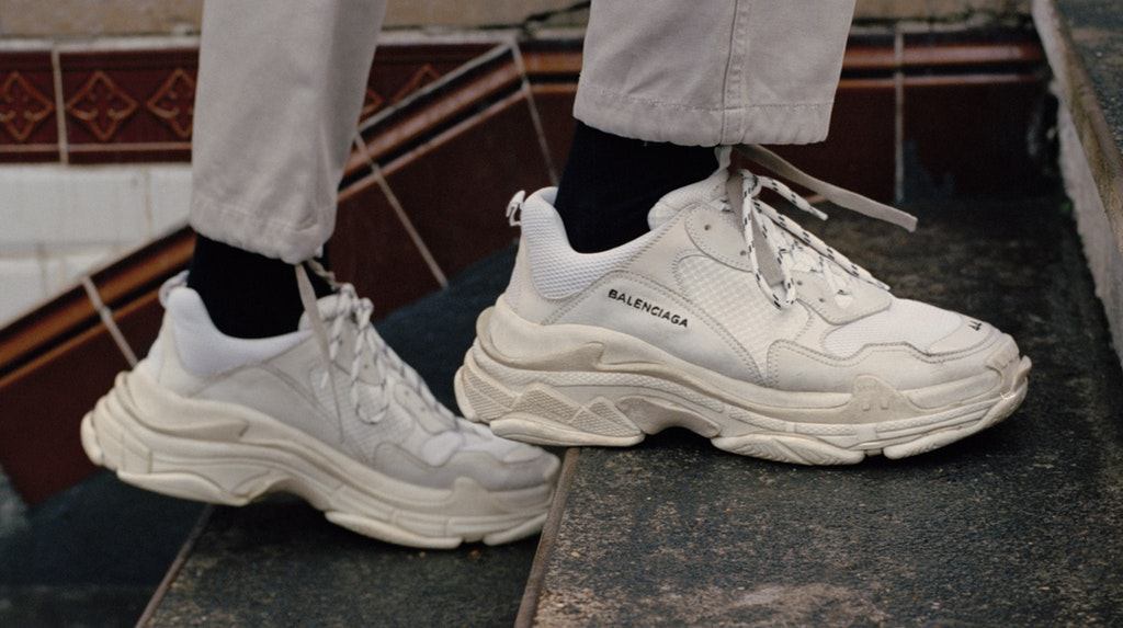 Trend to try: Chunky dad sneakers are