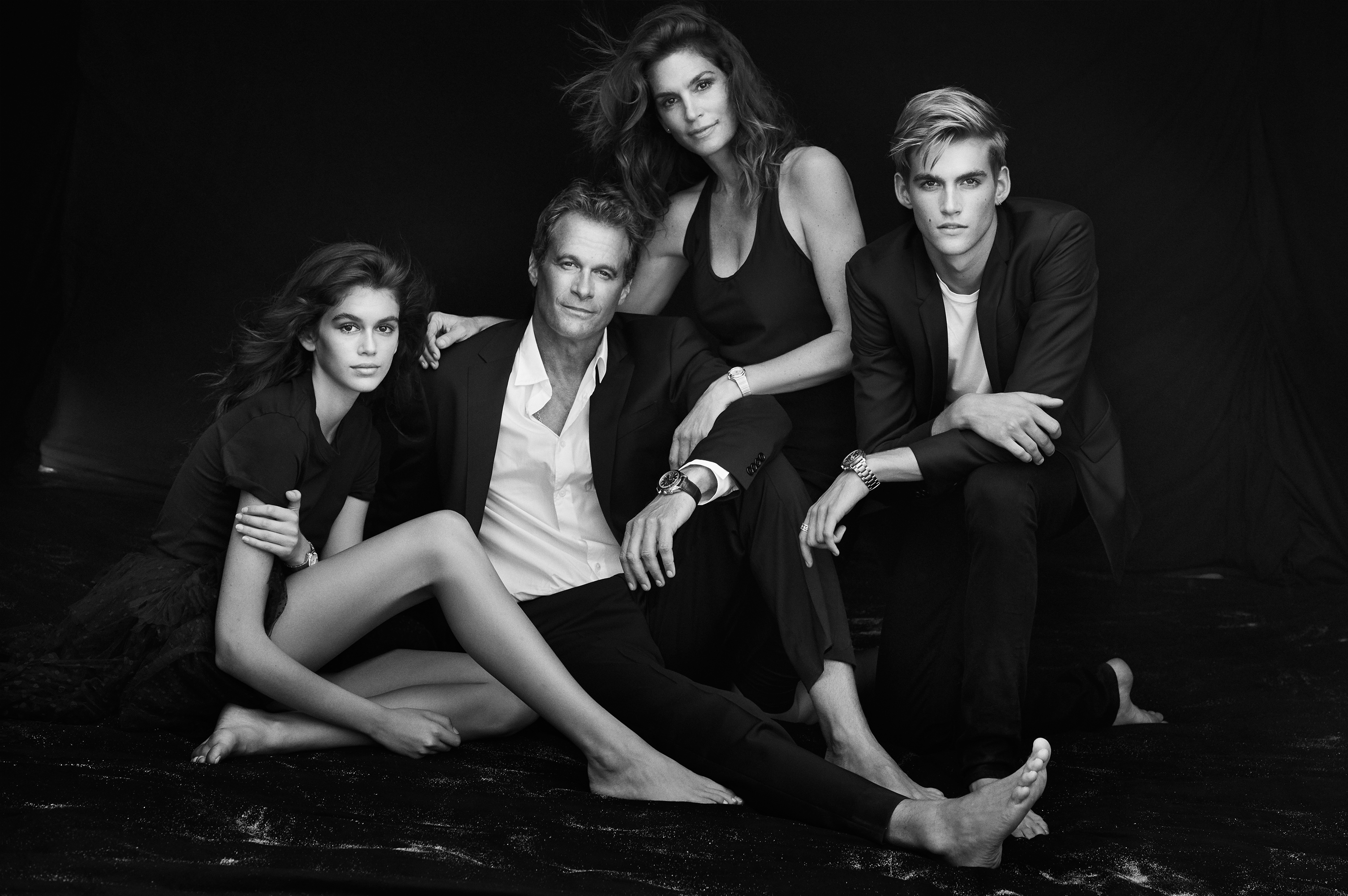 Omega's latest campaign is a portrait of the world's most photogenic family