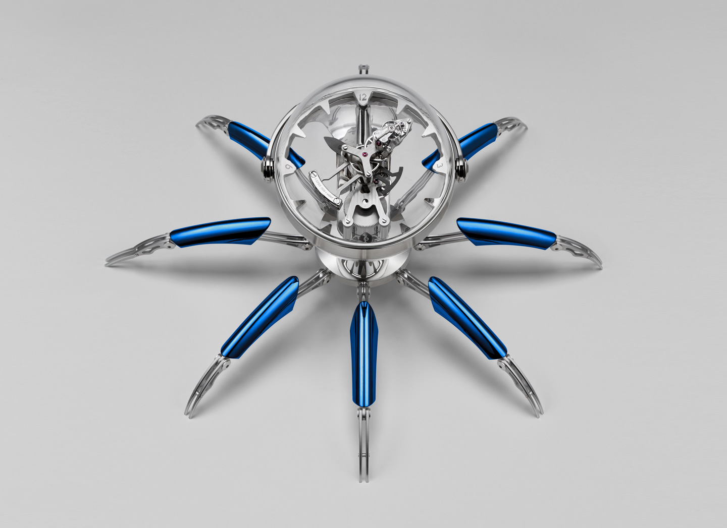 Splurge: This RM152,442 MB&F clock has legs that go on for days
