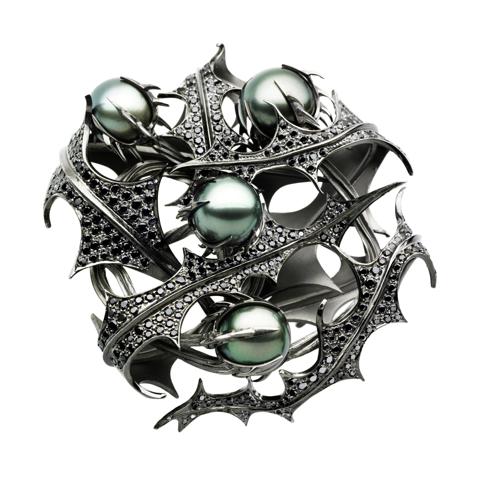 Thistle brooch, 2006