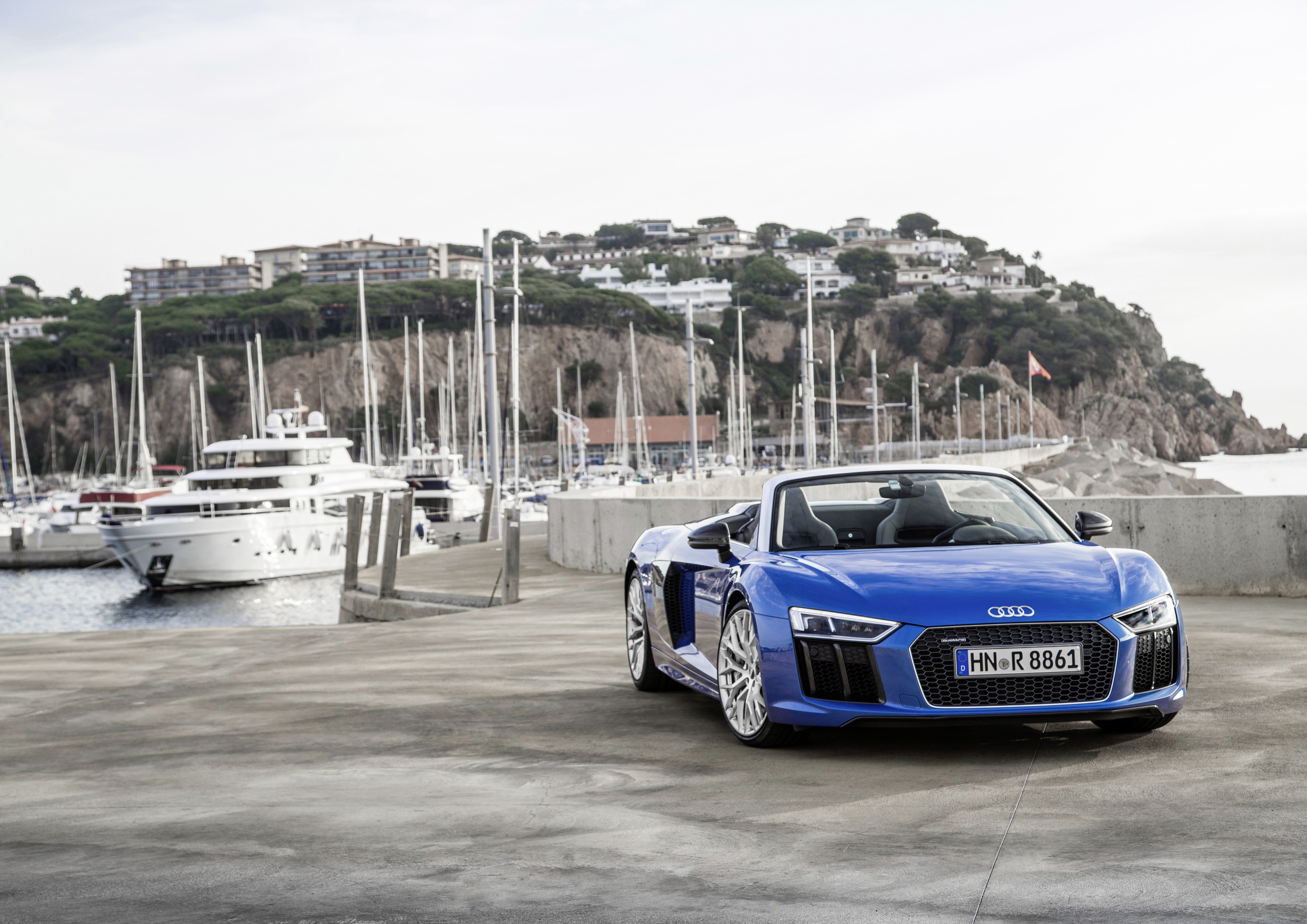 Review: the Audi R8 Spyder is a chiselled dream to drive down open roads