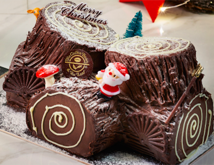 The Coffee Bean's classic holiday log