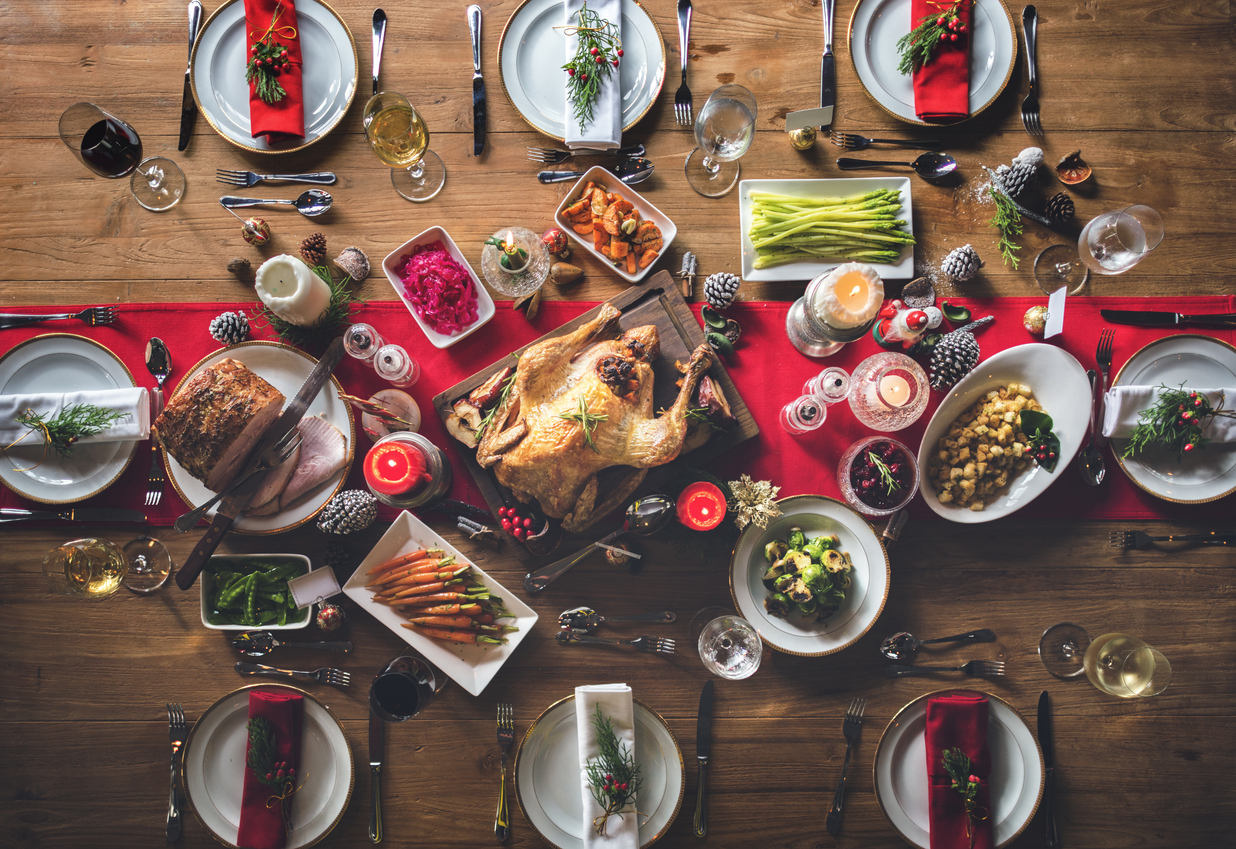 7 ways to indulge in your Christmas dinner without going overboard