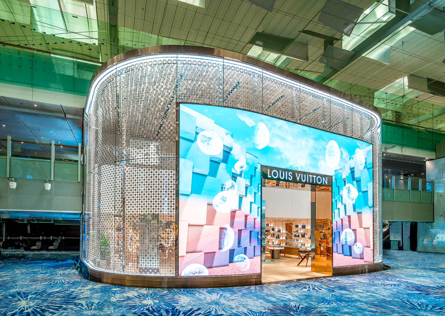 Store explore: Louis Vuitton opens first airport boutique in South Asia at Changi