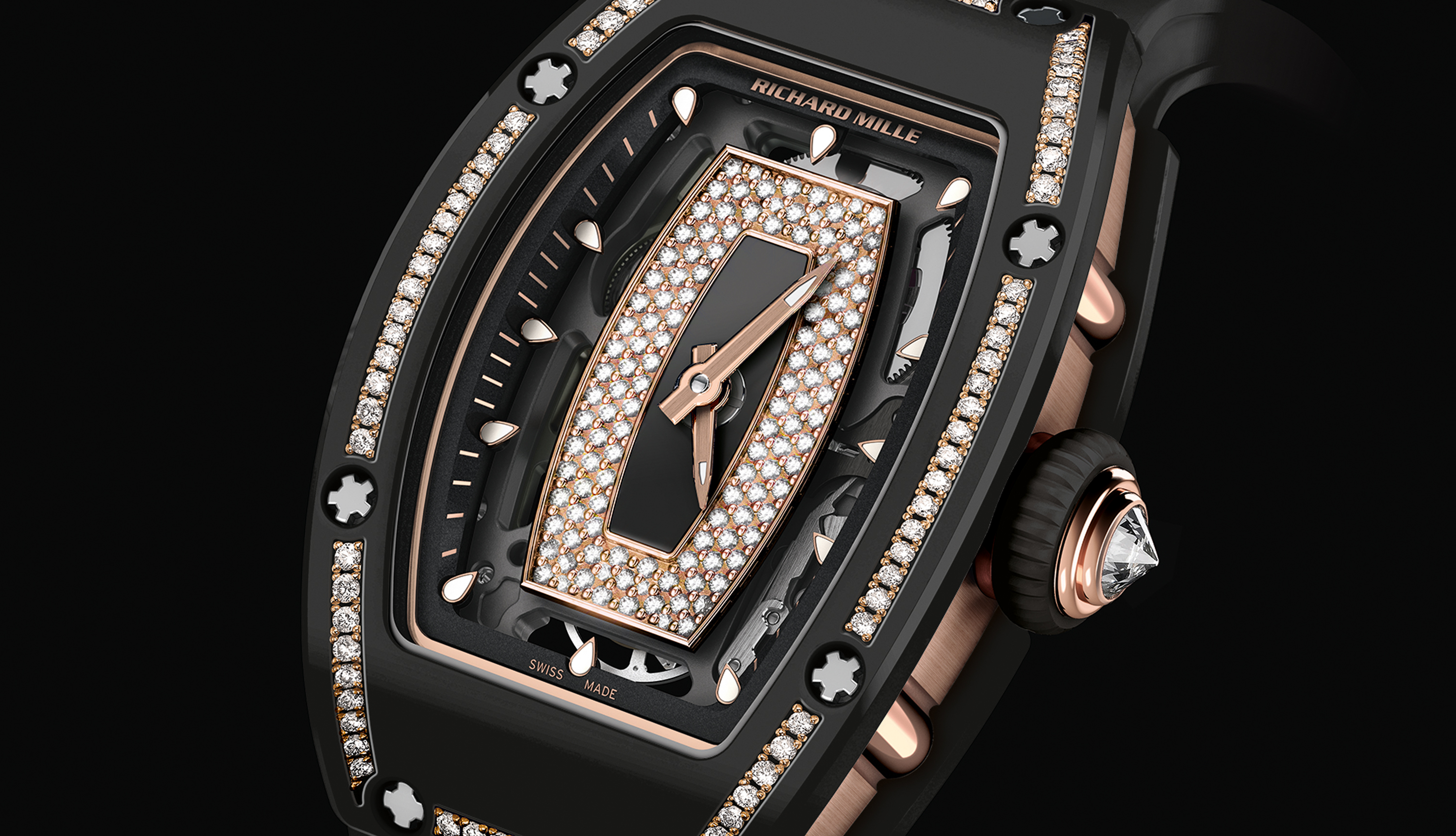 Richard Mille just unveiled a spectacular ladies' timepiece ahead of SIHH 2018