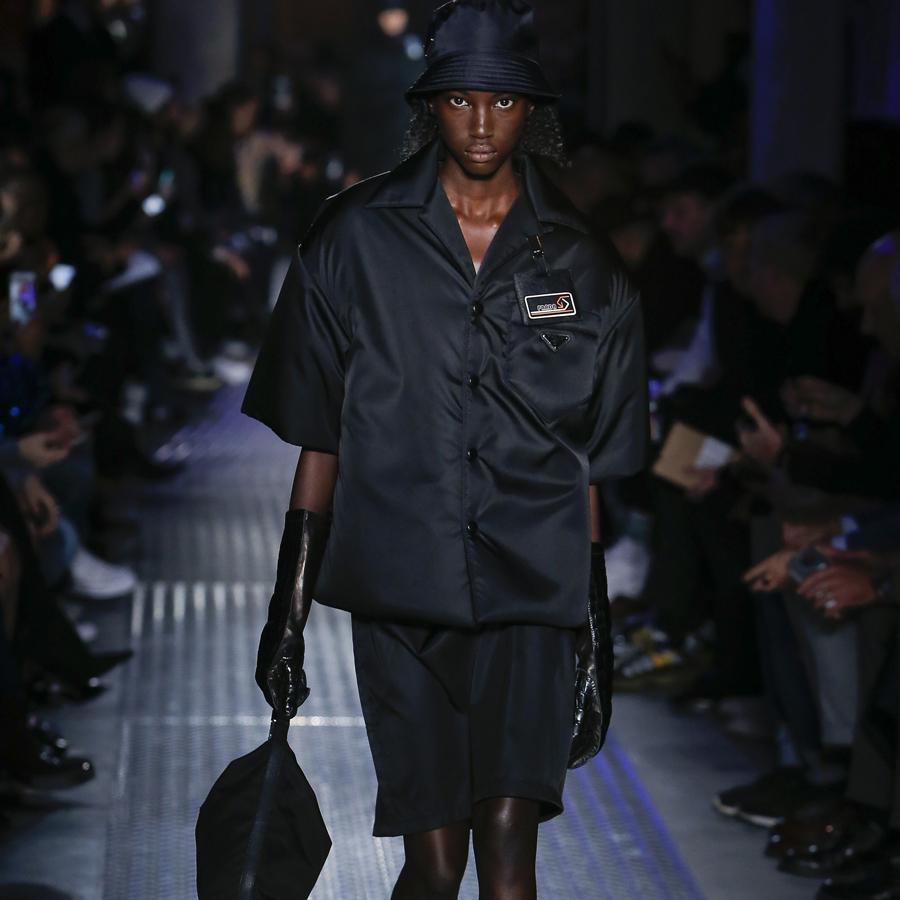 Prada put nylon on the runway
