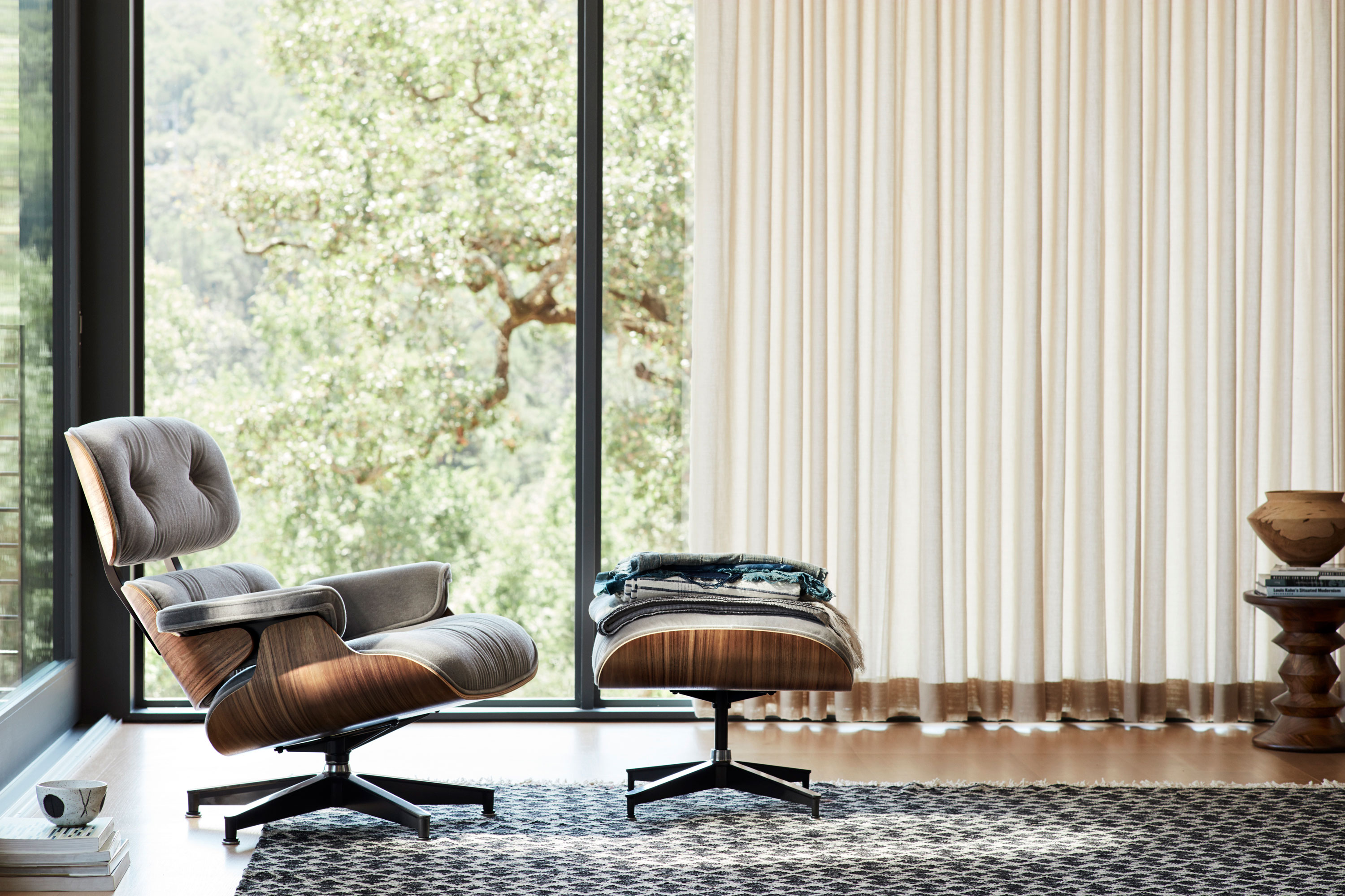 Eames Lounge Chair Living Room hot seat: the history behind the eames lounge chair