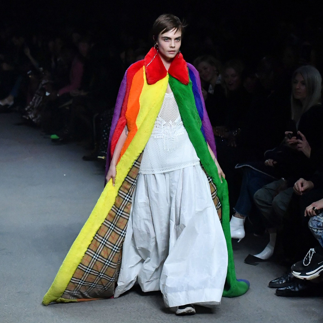 Christopher Bailey's psychedelic swansong