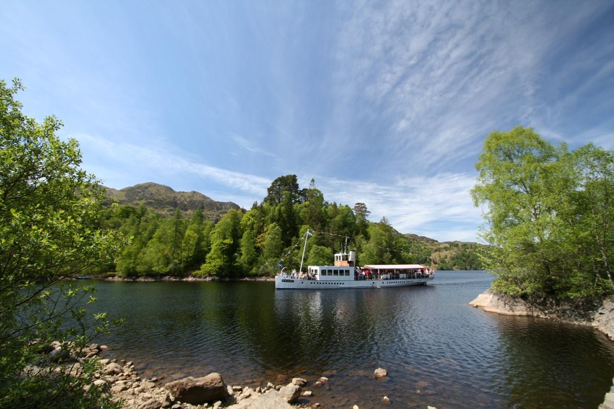 The loch that inspired Sir Walter Scott