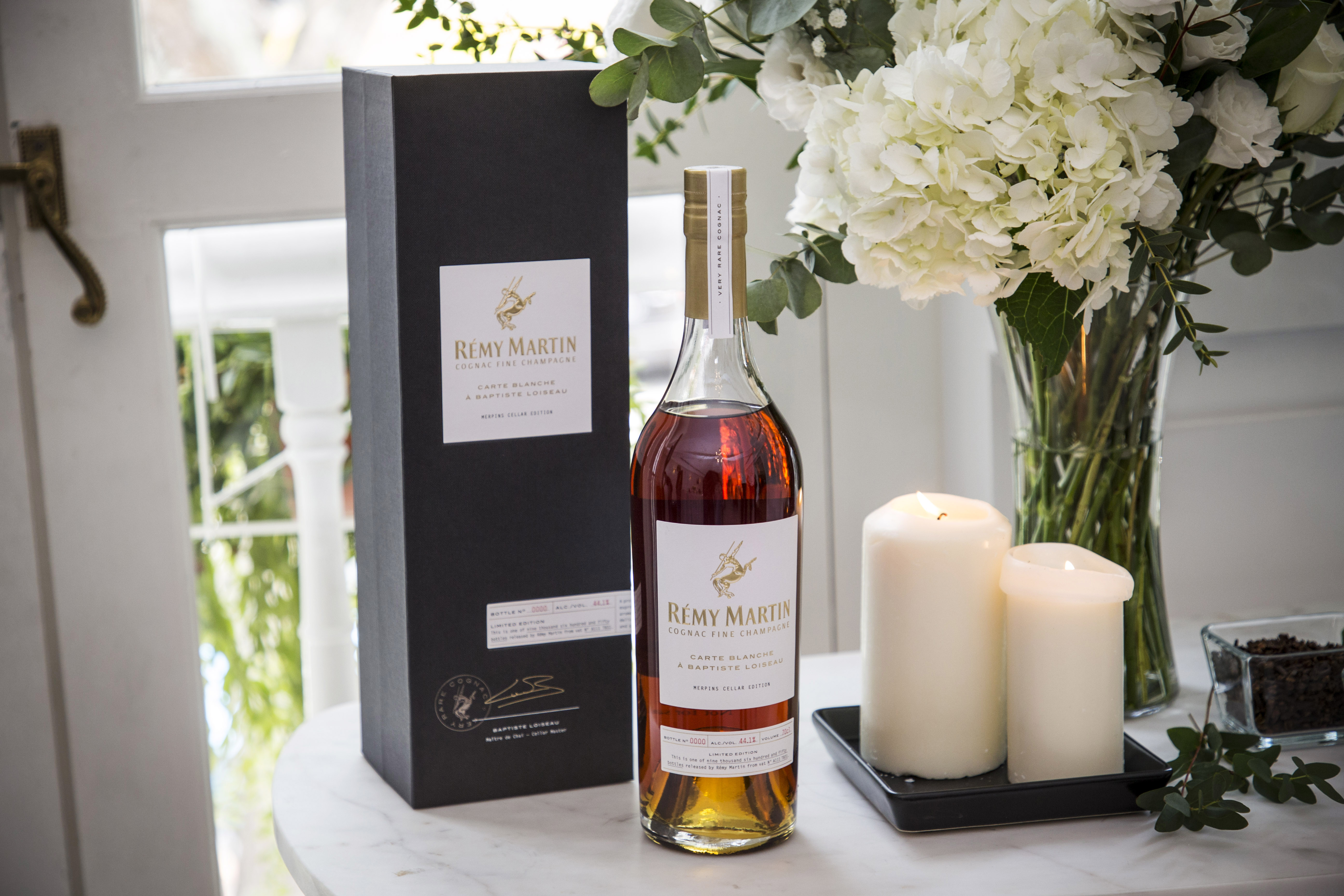 The Rémy Martin Carte Blanche Merpins Cellar Edition is an exquisite treat