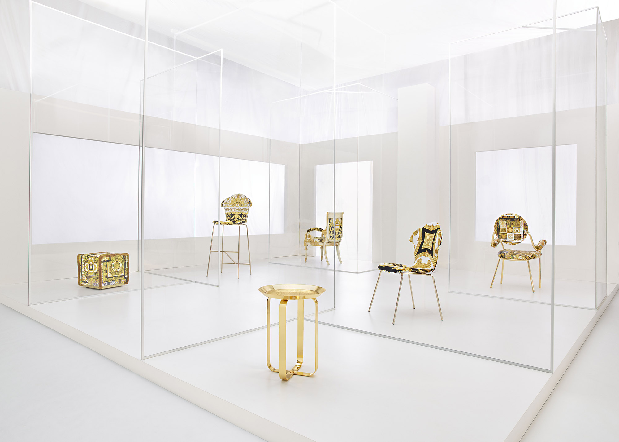 Versace Home invites you to have a seat with its new collection