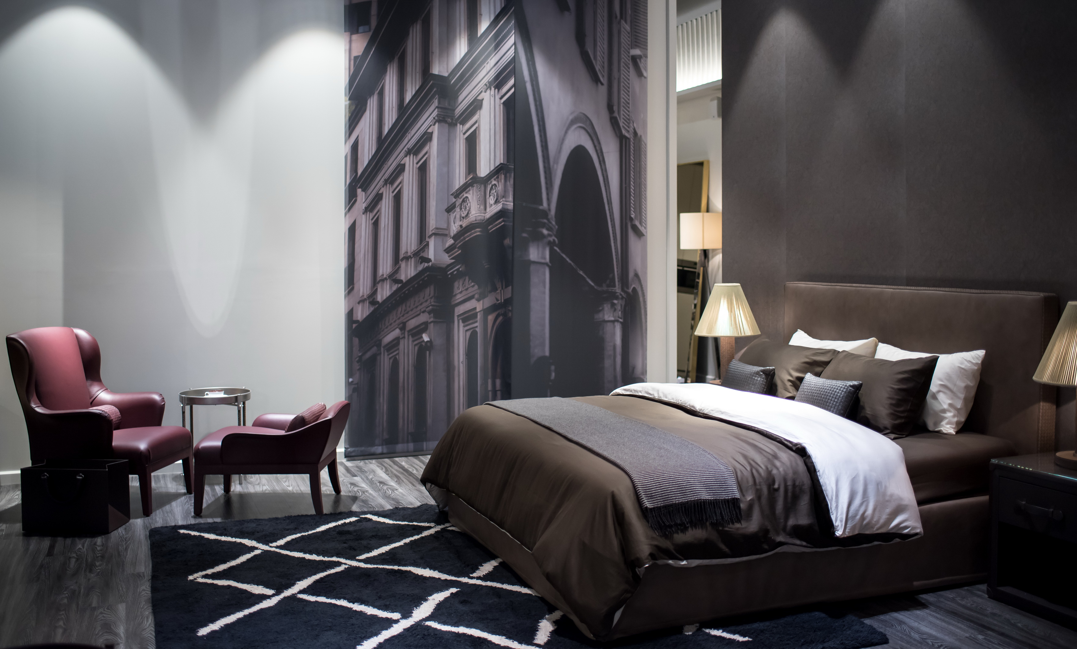 Get that luxury hotel look in your home with Bottega Veneta Home Collection
