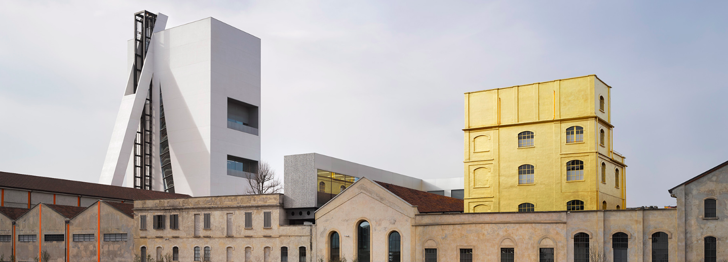 Prada Foundation is finally complete with OMA-designed Torre Restaurant